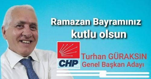 CHP Genel Başkan Adayı Turhan Güraksın'dan Bayram Mesajı