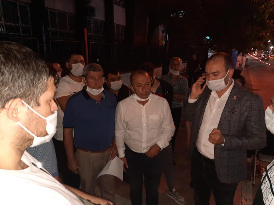 CHP Manisa İlçe Başkanlarından Toki Mağdurlarına Destek ( Özel Haber)