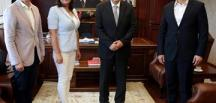 CHP İzmir İl Yönetimi'nden İzmir Valisi Erol Ayyıldız'a veda Ziyareti
