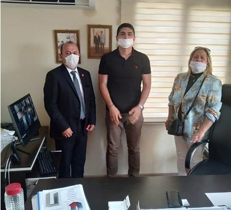 CHP Manisa Şehzadeler İlçe ve Atamızın İzinde Derneği'nden Anlamlı Ziyaret