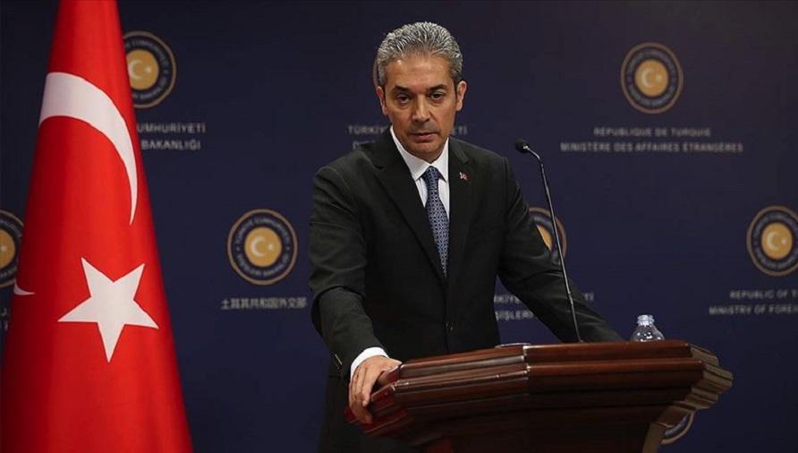 Dışişleri Bakanlığı Sözcüsünden Yunanistan'a Doğu Akdeniz tepkisi