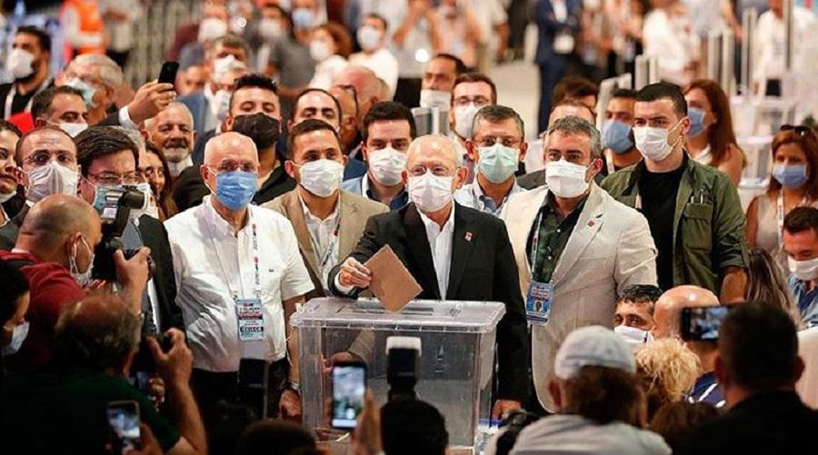 CHP'nin 37'inci Olağan Kurultayı PM seçimleri