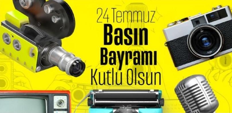 İzmir Basınından 24 Temmuz Gazeteciler ve Basın Bayramı mesajı