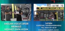 Sporun Kalbi Sağlam Vücut Spor Merkezi Elbistan'DA Atıyor
