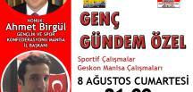 GESKON Manisa İl Başkanı Ahmet Birgül Genç Gündem'in Canlı Yayın Konuğu Oldu
