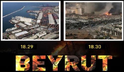 Beyrut Limanı'nda büyük patlama: 78 can kaybı, 4 bine yakın yaralı
