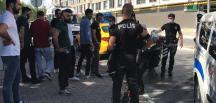 Esenyurt'ta taksiciler arasında yolcu alma kavgası