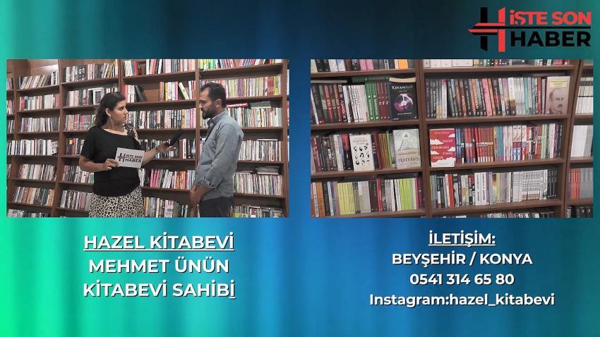 Beyşehir'in İncisi Hazel Kitabevi