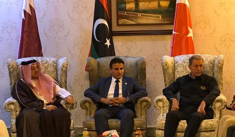 """""""Libya'da meşru hükümetin yanındayız"""""""