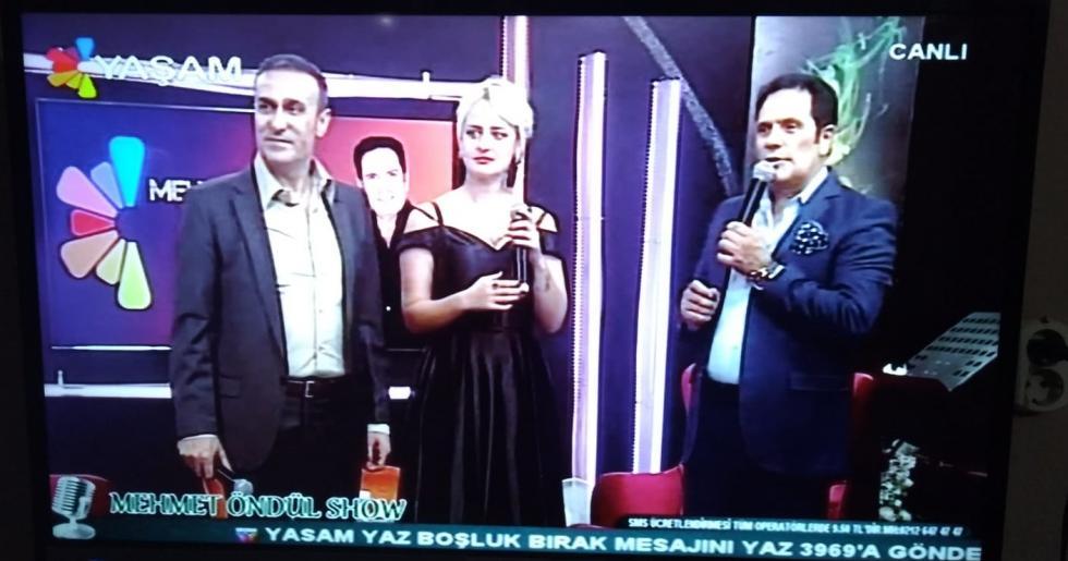 Mehmet Öndül'ün Programında Ankaralı İclal Rüzgarı