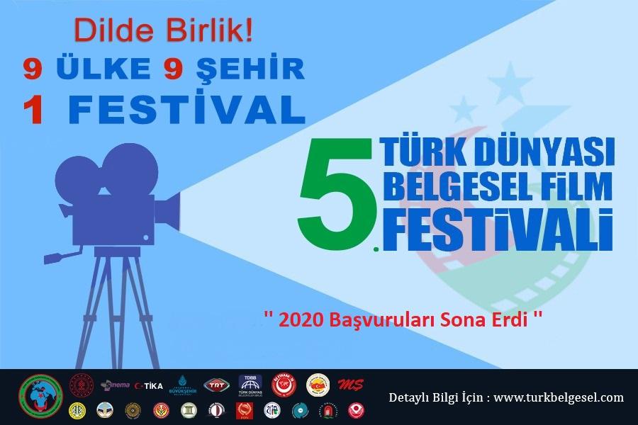 5.Türk Dünyası Belgesel Film Festivaline Film Müracaatları Sona Erdi
