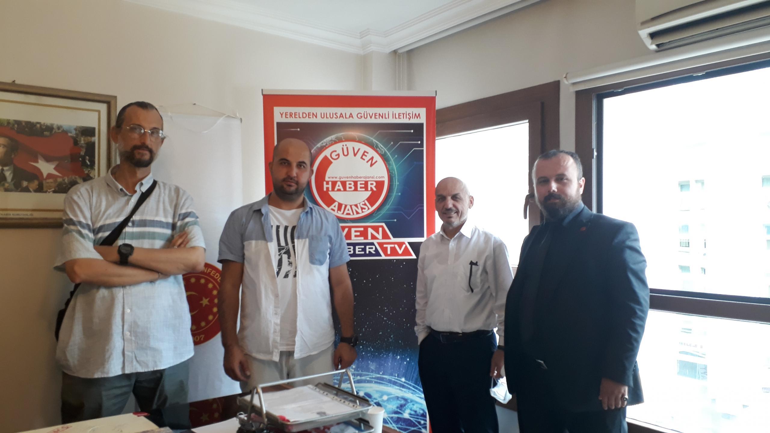 TÜMSAD'tan Güven Haber Ailesine Anlamlı Ziyaret