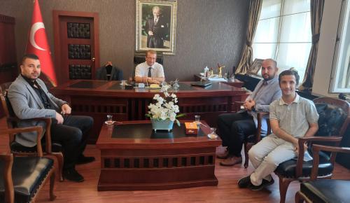 Gençlik ve Spor Konfederasyonu İzmir'den Karşıyaka Kaymakamı'na Ziyaret