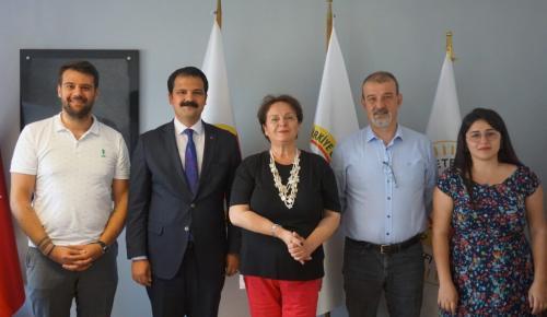 Başkan  Gruşçu'dan Kırılmaz Kalem Ziyareti