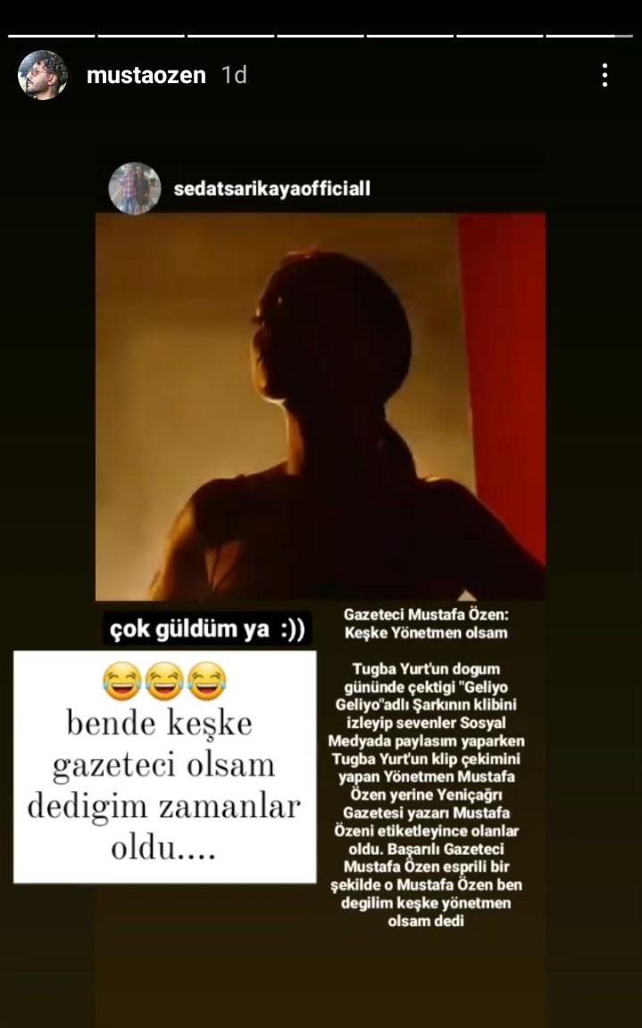 Gazeteci Mustafa Özen: Keşke Yönetmen olsam!