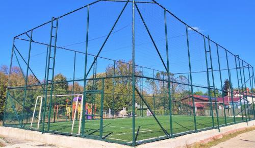 Başkan Mesut Üner Yaptırdığı Futbol Sahasını Çocuklara Armağan Etti
