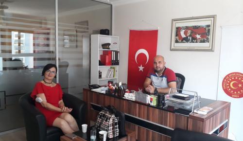 Demokratik Anneler Derneği'nden GESKON VE Güven Haber Ajansı'na Anlamlı Ziyaret