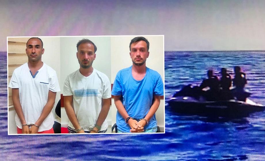 FETÖ'cü 3 eski asker jet skiyle kaçarken yakalandı