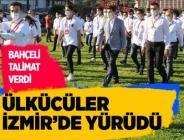 Ülkücü gençler İzmir'de yürüdü