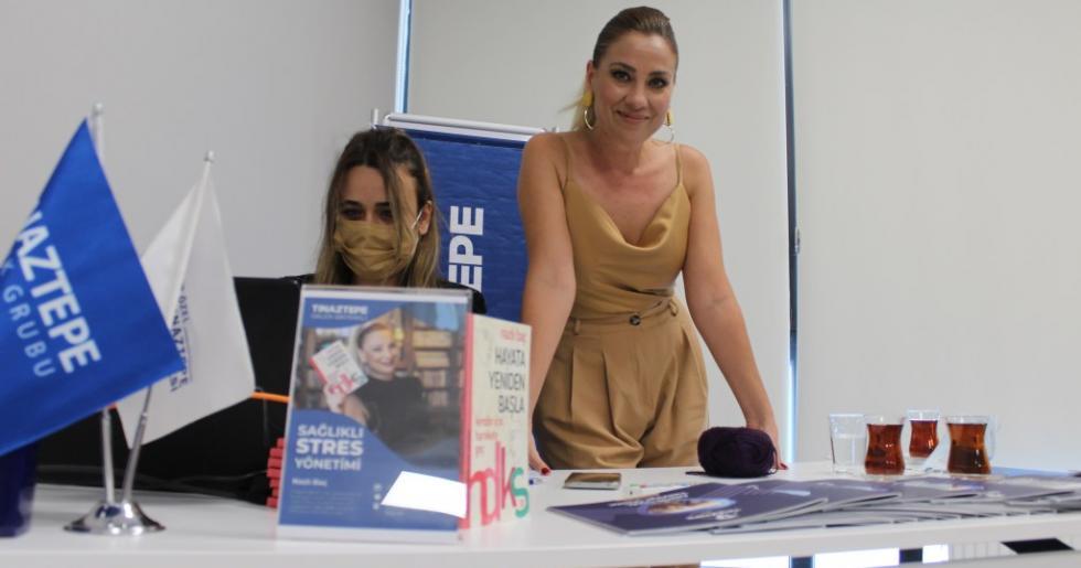Kişisel Gelişim Uzmanı Yazar Nazlı Baç 'tan Sağlıkçılara Muhteşem Seminer