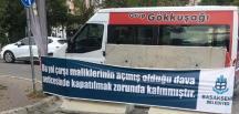 Bahçeşehir'de Başakşehir Belediyesi'nin yol kavgası