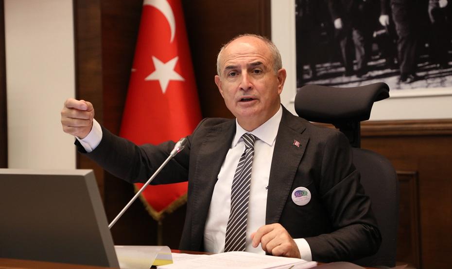 Covid-19 testi pozitif çıkan Başkan Akgün'ün sağlık durumu iyi