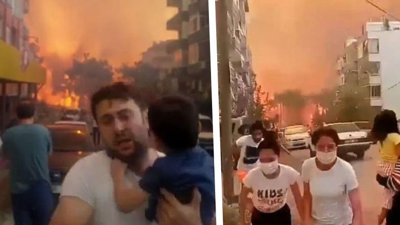 Bakan Pakdemirli: Yangın kontrol altına alındı