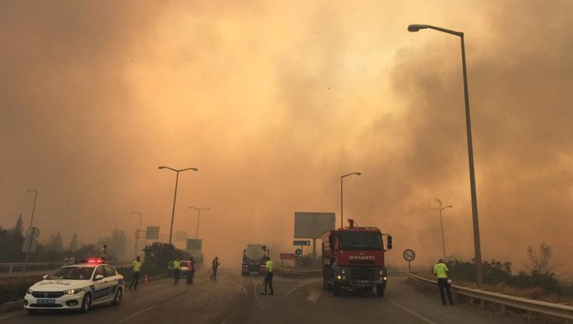 Hatay'daki yangın yeniden evlere sıçradı! -VİDEO HABER-