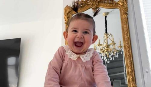 Hayal Lorena 1 yaşında
