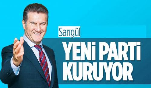 Mustafa Sarıgül, yeni parti kuruyor