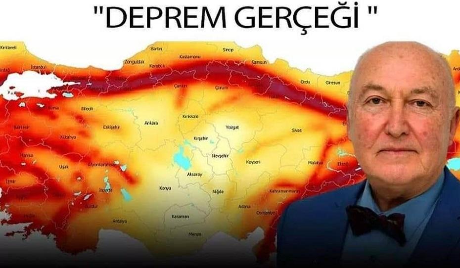Prof. Dr. Ercan: Marmara'da büyük deprem Tekirdağ'da olacak