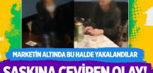 Yer Esenyurt… Üstü market altı meyhane! -VİDEO HABER-