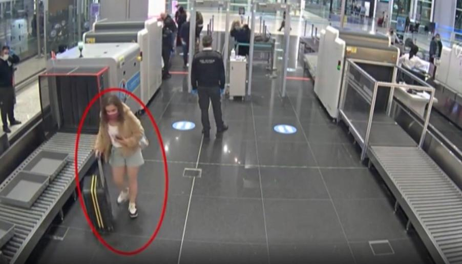 İstanbul Havalimanı'nda PKK'lı kadın terörist böyle yakalandı -VİDEO HABER-