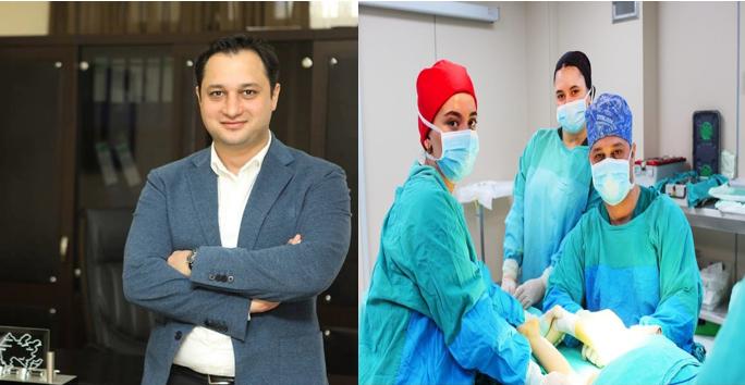 Uzman Dr. Vusal Mahmudov Eklem içi kök hücre tedavisi