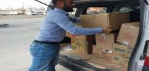 Senan Alagöz'den pandemi döneminde gıda yardımı!