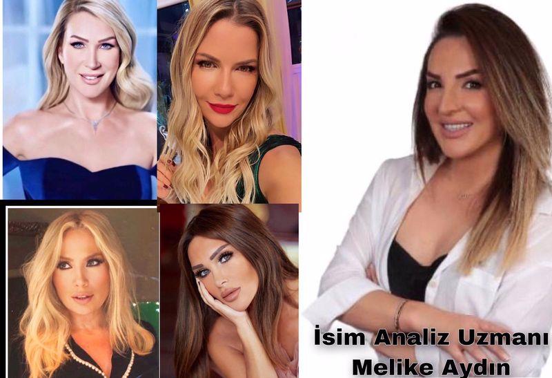 Seren Serengil, Seda Sayan, Selin Ciğerci İsim Analizlerini Melike Aydın Açıkladı!