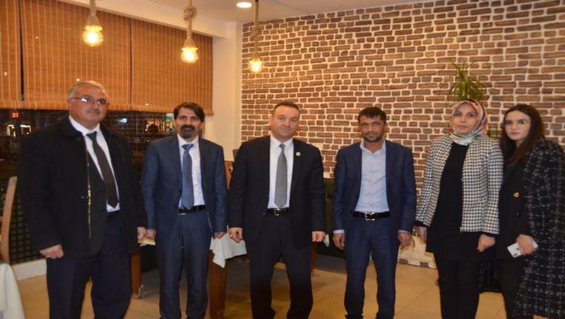 Mehmet Danaoğlu, Ahmet Aslan İle Bir Araya Geldi