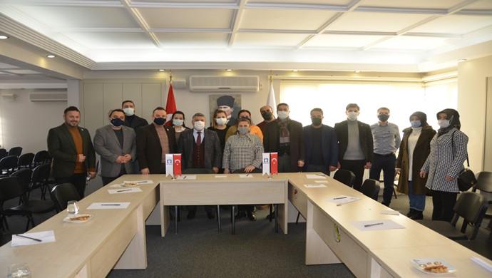 Gelecek Partisi ` nden Mimarlar Odası Gaziantep Şubesine Ziyaret