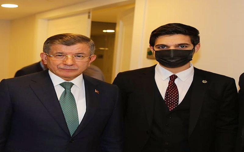 Genç Siyasetçi Ahmet Bakır, Ahmet Davutoğlu İle Bir Araya Geldi
