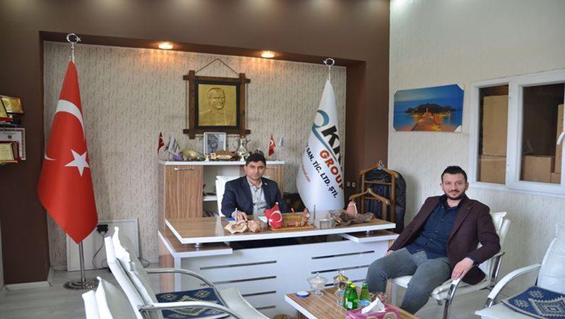 Oruçoğlu Grup'tan KRN Group'a ziyaret