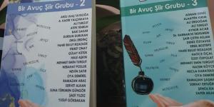 Bir Avuç Şiir Grubunun Şiir Antoloji Kitabı raflarda yerini aldı