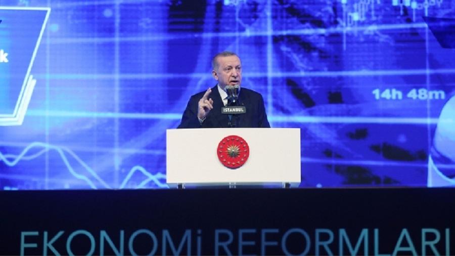 Cumhurbaşkanı Erdoğan 'Ekonomi Reform Paketi'ni açıkladı