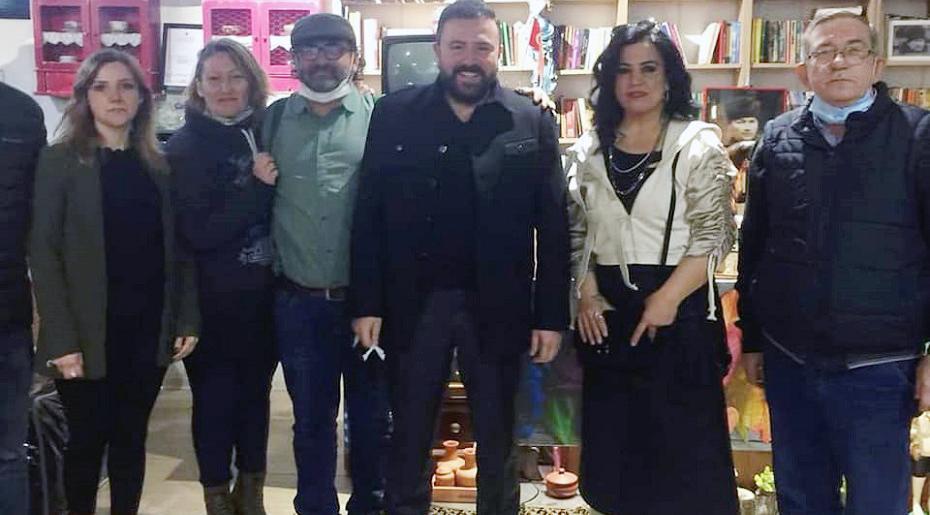 SANATÇI FATİH TEKİN, KERMESİ ZİYARET ETTİ
