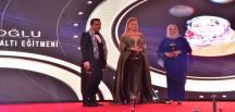 Azmin zaferi… Nuran Zinciroğlu, Uluslararası Doğu Ödüllerine layık görüldü!