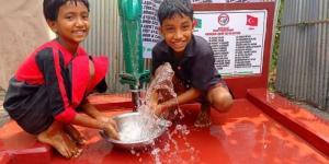 Başkan İnayet Öztürk Yücetaş Anne ve Babasının adına Arakan'da Su Kuyusu Açacak