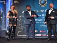 Lokman Aydemir'e bir ödül de '2. Altın Kalite Ödülleri'nden geldi!