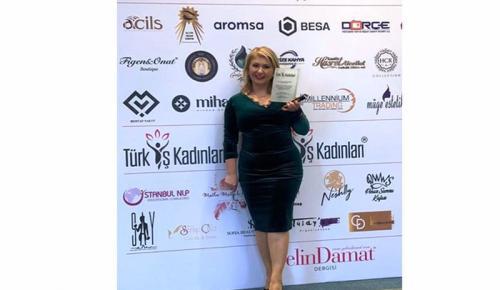 Ünlü Diş Hekimi Dr. Sonay Öztan Gökhan'a bir ödül daha!