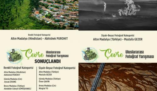 """""""Çevre"""" konulu uluslararası fotoğraf yarışması sonuçlandı.."""
