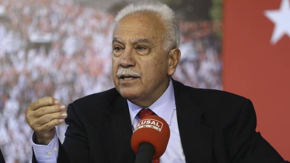Doğu Perinçek: Türkiye'nin Filistin'e desteği Suriye'den başlar