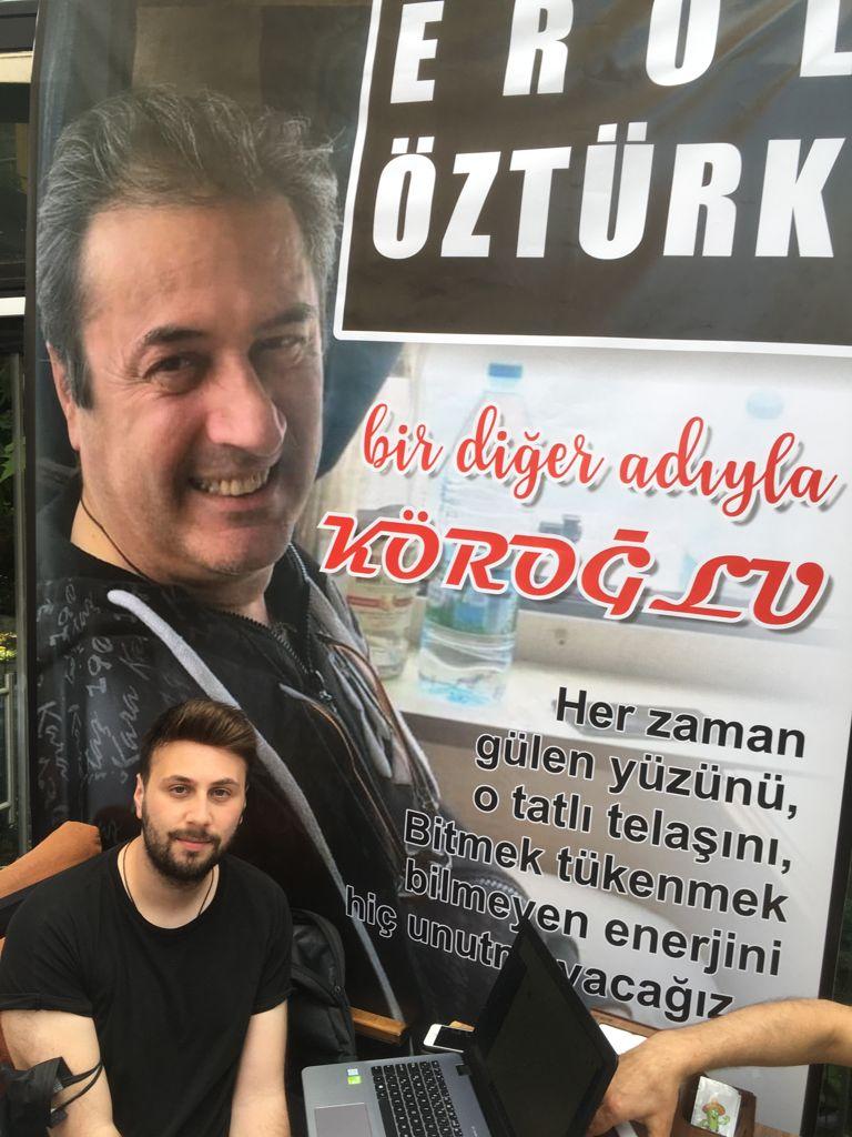 EROL ÖZTÜRK'Ü SEVENLERİ UNUTMADI